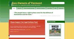 Preview of gunownersofvermont.org