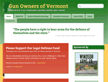 Tablet Preview of gunownersofvermont.org